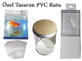 Özel Tasarım Şeffaf PVC Kutular
