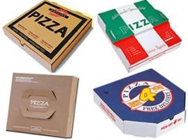 Производство коробки пиццы
